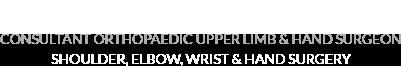Mr. Richard. G. Dias, Consultant Orthopaedic Hand & Upper Limb Surgeon - Logo